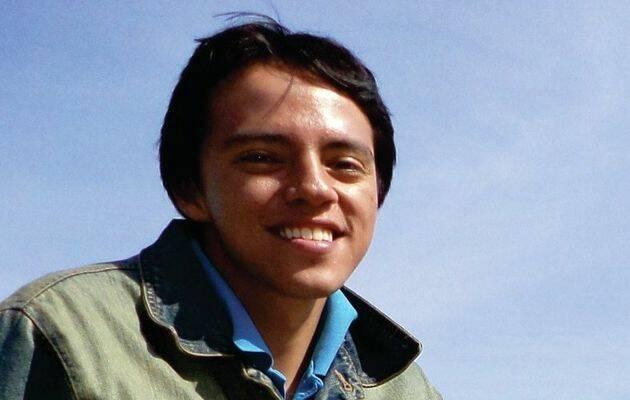 El poeta  Samuel Lagunas.,
