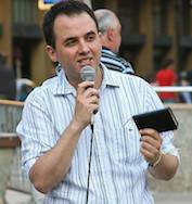 Unai Arretxe, portavoz del Consejo Evangélico del País Vasco.