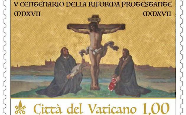 El sello de la Reforma editado por el Vaticano. / Infovaticana,