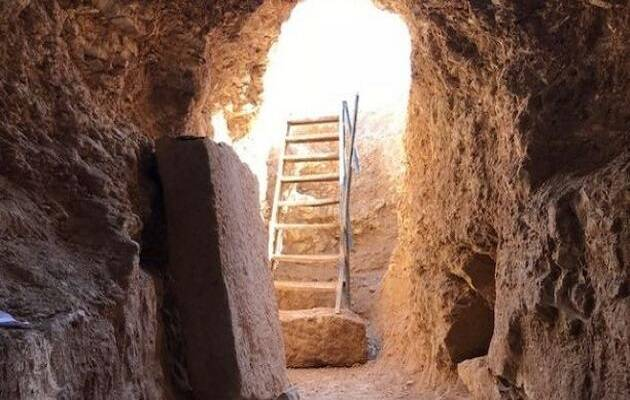 La iglesia secreta descubierta data de los siglos tercero o cuarto después de Cristo. / Fox News,