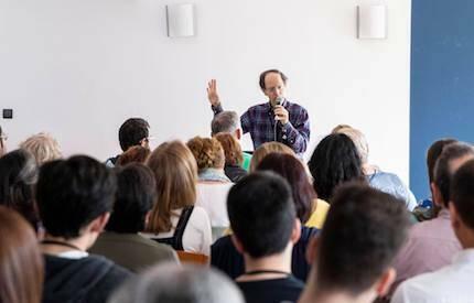 Pablo Martínez tuvo a su cargo las exposiciones bíblicas. / Fórum Apologética