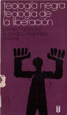 Portada de Teología negra, teología de la liberación.
