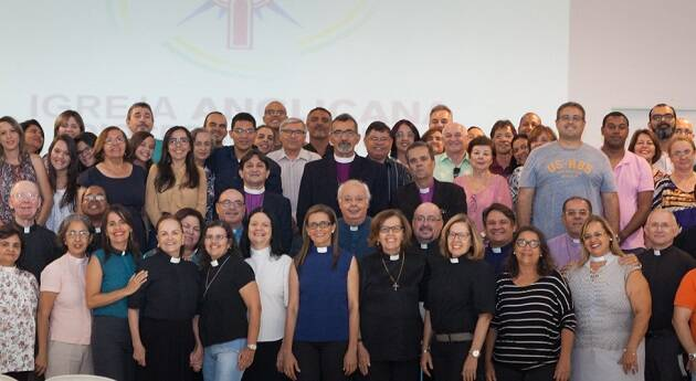 Miembros de la diócesis anglicana que ha formado este nuevo grupo. / Blog Miguel Uchoa,