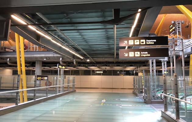 Aeropuerto Adolfo Suárez (Madrid-Barajas).,
