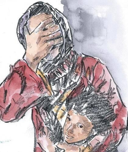 Horrores de la guerra, obra de Miguel Elías.