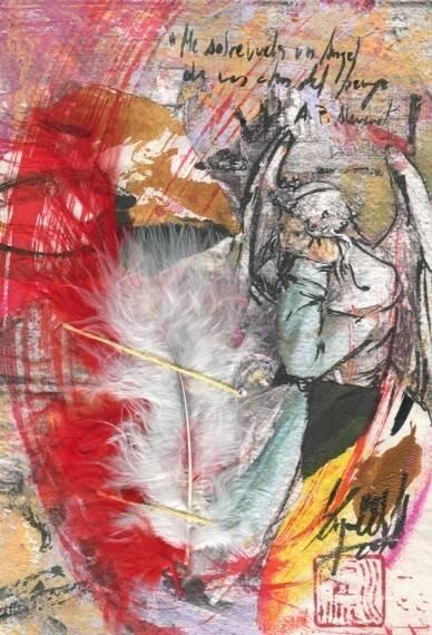 Me sobrevuela un ángel, obra de Miguel Elías.