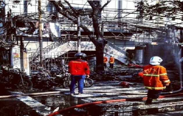 Iglesia Pentecostal de Surabaya, el día del atentado.  /Puertas Abiertas,