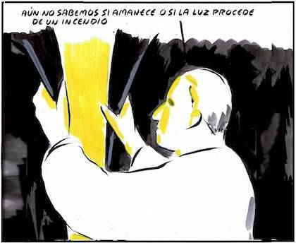 ,politica incendiaria, politica luz