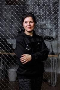 Angela Tkachenko, de Steiger.