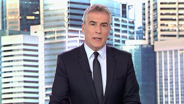 David Cantero, presentador del Informativo de mediodía de Telecinco. / Telecinco,