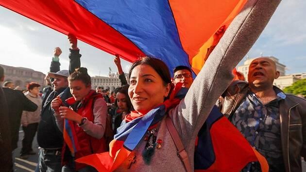La revolución pacífica en Armenia ha sido vista como un ejemplo de democracia. / Arytom Geodakyan, TASS,