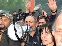Nikol Pashinyan dirigió las protestas y ahora es el primer ministro. / Yerevantsi (Wikimedia Commons)