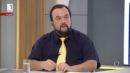 Raichinov ha sido invitado recientemente a la televisión nacional para explicar la posición de los cristianos evangélicos.