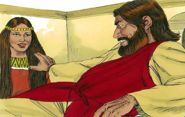 Jesús dijo: e cierto os digo que dondequiera que se predique este evangelio, en todo el mundo, también se contará lo que ésta he hecho, para memoria de ella. / Free Bible Images.,