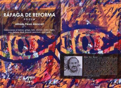 Portada de Ráfaga de Reforma, donde se publicó el poema.
