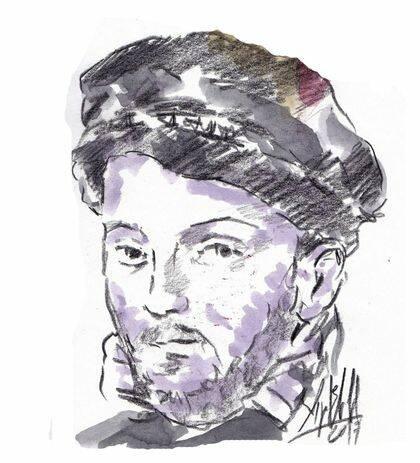 Retrato imaginado de Casiodoro, de Miguel Elías .