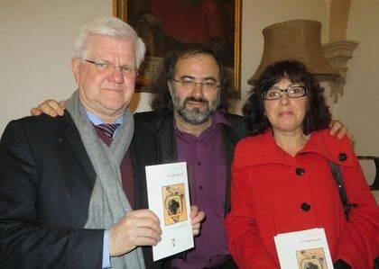 Stuart Park, A. P. Alencart y Nely Iglesias (foto de Jacqueline Alencar).
