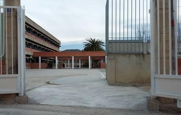 Fachada del CEIP Pintor Camarón. /Ayuntamiento de Segorbe,