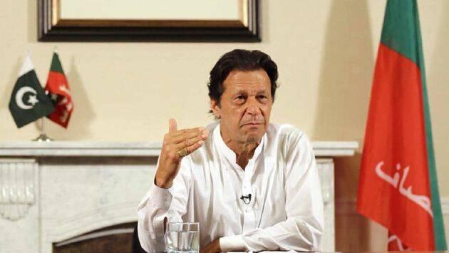 Imran Khan dio el jueves un discurso en televisión anunciando que había ganado las elecciones. / Youtube,