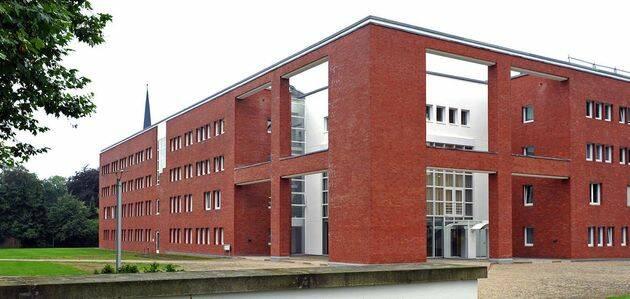 Un edificio de la Iglesia Protestante de Alemania, EKD. / EKD,