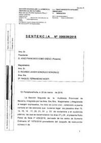Copia de la sentencia del juicio contra los acusado de La Manada. / Wikimedia Commons