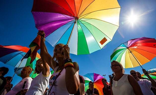 Una de las actividades del Orgullo LGTBI. / EuroPride 2018,