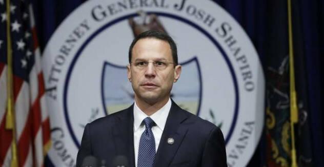 El fiscal general del estado, Josh Shapiro.,