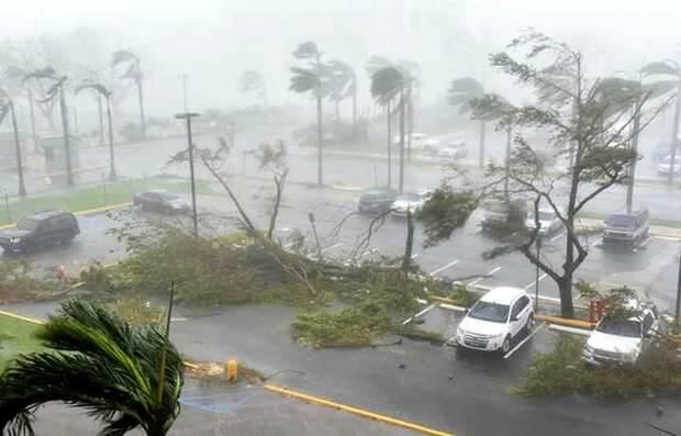 El huracán María azota Puerto Rico / Imagen de archivo,huracán María, Puerto Rico
