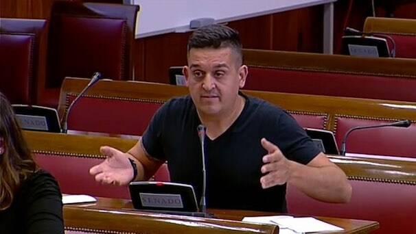 Carles Mulet, senador de Compromís. / Premsa Compromís,