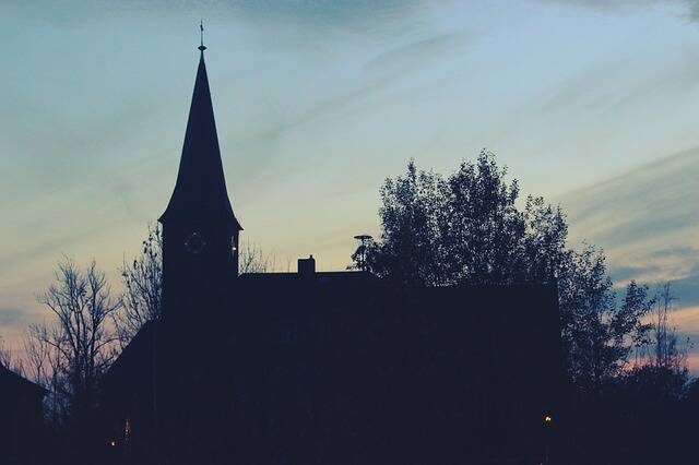 Iglesia en Alemania. / Pixabay (CC0),