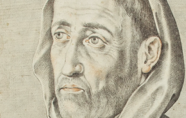 Fray Luis de León, dibujado hacia 1598 por Francisco Pacheco. / Wikimedia Commons,