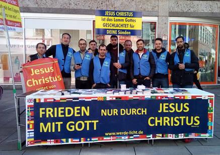 Algunos de los integrantes del ministerio Werde-Licht, en alemania. / Werde-Licht.de,