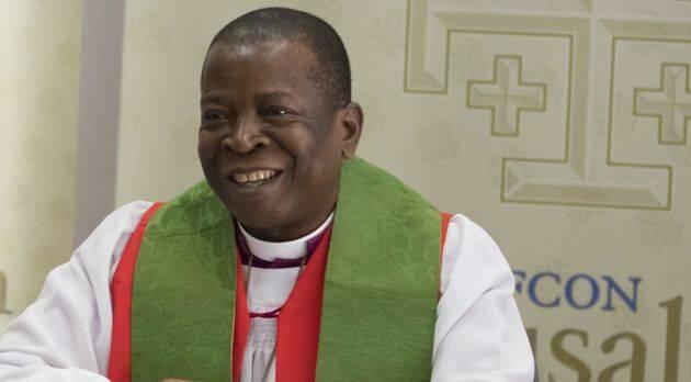El obispo Okoh, primado de Nigeria y presidente de Gafcon. / Gafcon,