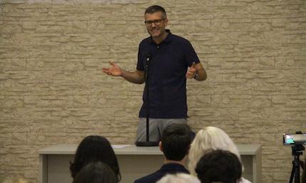 Joel Forster, director de Evangelical Focus. / Jonatán Soriano