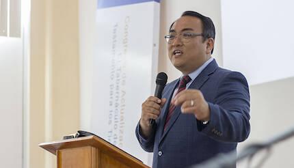 El pastor Pablo Shin. / Misión Buenas Nuevas