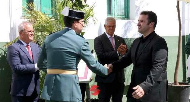 Saludo al inicio del acto de reconocimento,Fuerteventura evangélicos, Misión Cristiana Moderna