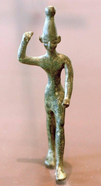 (Imagen) Estatuilla de Baal. Museo del Louvre. / Wikimedia Commons