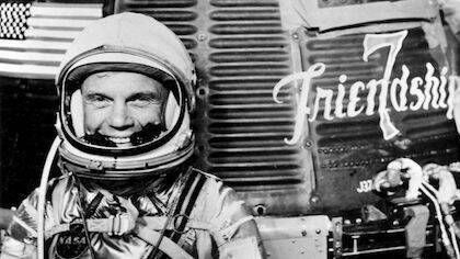 Tom Wolfe habla de la fe de John Glenn, el segundo astronauta en volar al espacio y el primero en orbitar la Tierra.