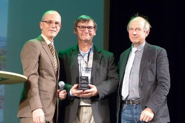 Entrega del Premio de la Esperanza a la Alianza Evangélica Estonia. / EEA, C. Grötzinger