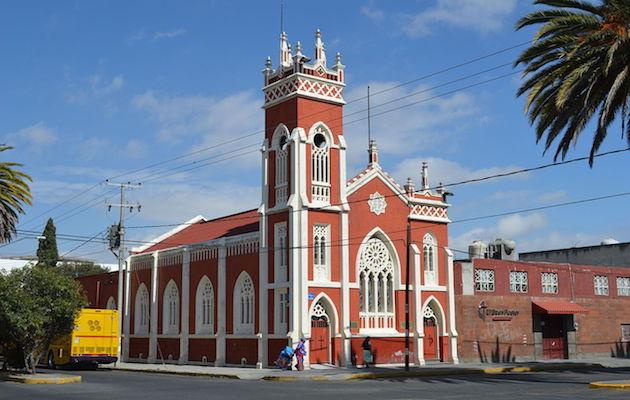 Iglesia Metodista en Apizaco, Tlaxcala. / Wikimedia Commons,