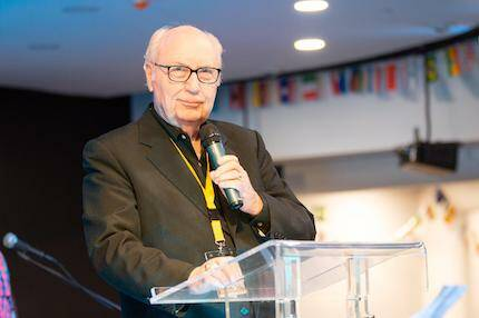 George Wood, presidente de las Asambleas de Dios. / Juan José Marcos Ramos, Prensa FADE