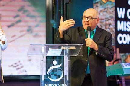 Brad Walz, presidente de la Comisión de Misiones Mundiales de AD. / Juan José Marcos Ramos, Prensa FADE