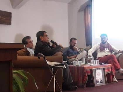 Panel sobre religión y política en América Latina.
