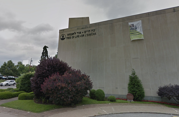 La sinagoga Tree of LIfe, en Pittsburgh. / Google Street View,