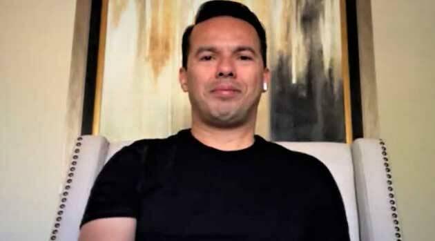 Samuel Rodríguez, durante la entrevista. / Alianza Global de Noticias,