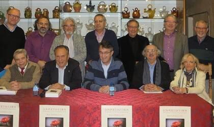 Martín Cobano, Alencart, Samprón, Ares, Valle, Ibarrola, Corral (de pie), Salvado, Fernández, Martínez Majo, Colinas y Sagüillo (foto de Jacqueline Alencar)