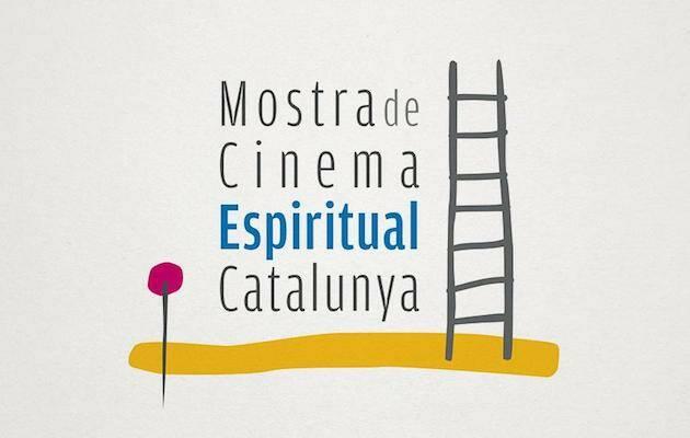 Cartel de XV Muestra de Cine espiritual de Cataluña.,