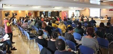 El encuentro se celebró en la sede de la Comisión Europea. / MGala, Actualidad Evangélica