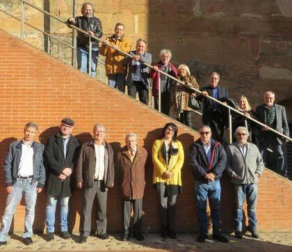 Algunos de los poetas del XV Encuentro (foto de Jacqueline Alencar).