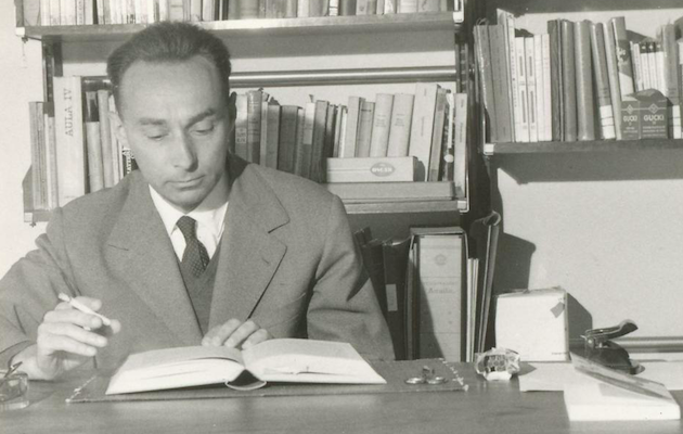Primo Levi en 1960. / Wikimedia Commons,